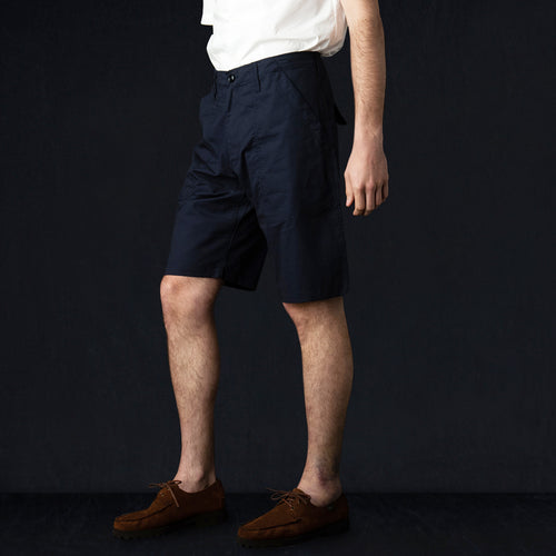 Fatigue Short in Vancloth Oxford Navy