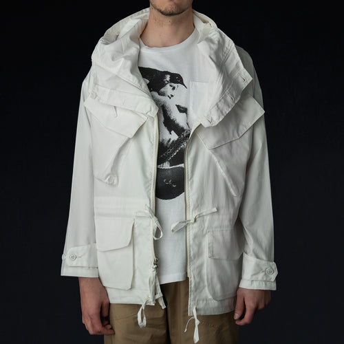 Expedition Half Coat in Vancloth Oxford White