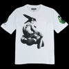 Monitaly - S/S Print Pocket Tee in White