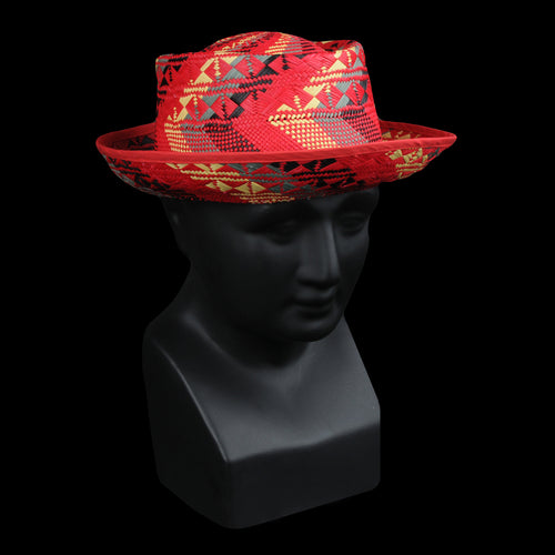 9216d86015337 Chamula - Sombrero Hat in Red Rusta