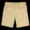 Save Khaki - Light Twill Bermuda Short in Honey