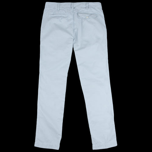 Light Twill Trouser in Light Blue