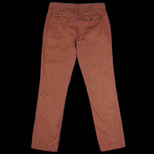 Light Twill Trouser in Nutmeg