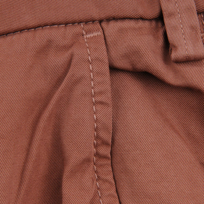 Save Khaki - Light Twill Trouser in Nutmeg