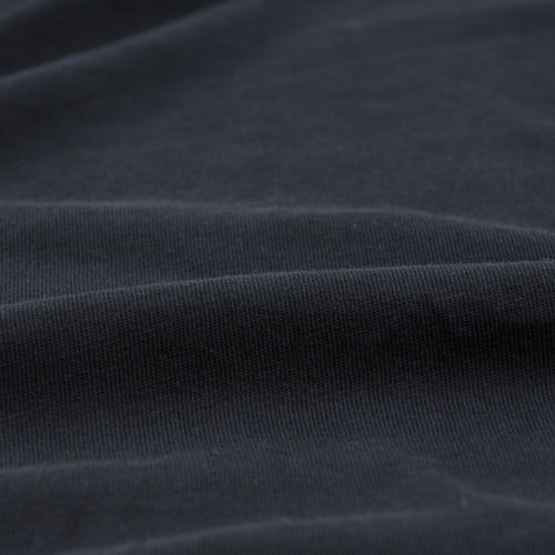 Organic Cotton Layer Crew Tee in Black