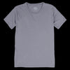 Save Khaki - Organic Cotton Layer Crew Tee in Metal