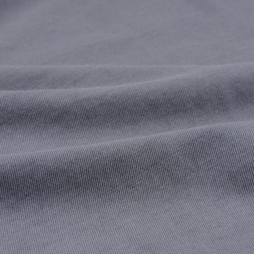Organic Cotton Layer Crew Tee in Metal