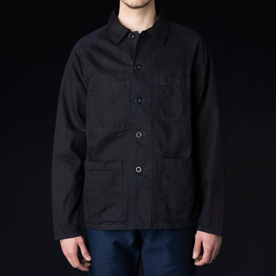 Arpenteur - Raglan Jacket in Dark Indigo
