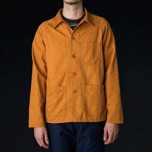 Raglan Jacket in Orange