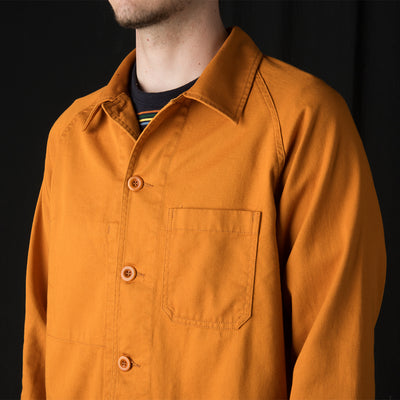 Arpenteur - Raglan Jacket in Orange