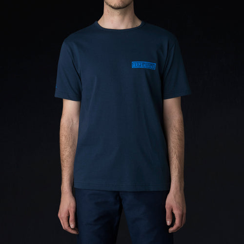 Vallin Tee in Navy