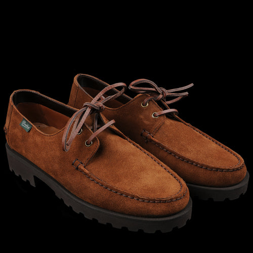 Paraboot Domingue in Tobacco Suede