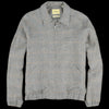 De Bonne Facture - Washed Linen Golf Jacket in Green Glen Check