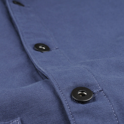 Twill Work Jacket in Marine