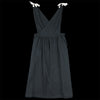 wrk-shp - Apron Dress in Black