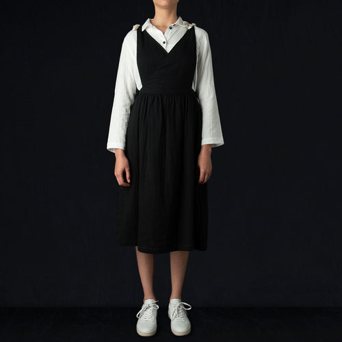 Apron Dress in Black