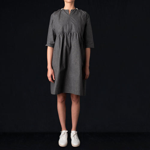 Cloud Tunic in Smoke Grey