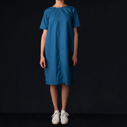 Spring Rain Dress in Gulf Blue