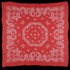 Needles - Silk Crepe Paisley Scarf in Red