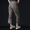 Needles - Uneven Dye Back Sateen Fatigue Pant in Olive