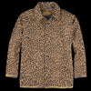 Needles - Cotton Herringbone Reversible Field Jacket in Leopard & Tiger Camo