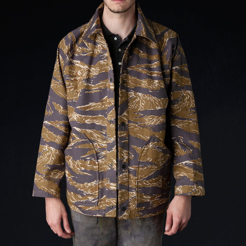 Needles - Cotton Herringbone Reversible Field Jacket