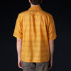 Needles - Stripe Embroidered Cotton Cabana Shirt in Mustard
