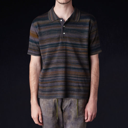 Needles - Splashed Polo Sweater