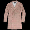 Needles - Sateen D.B. Coat in Smoke Pink