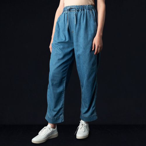 7oz Denim String Work Pant in Indigo