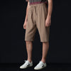 ts(s) - Garment Dye Mesh Drawstring Long Short in Mocha
