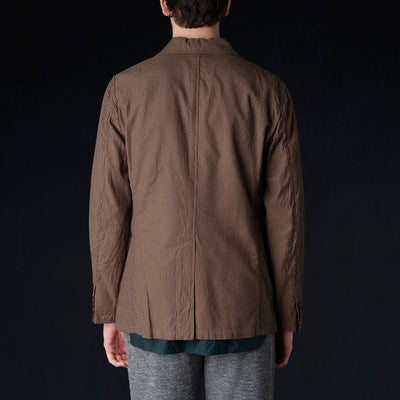 ts(s) - Cordlane Shirt Collar Jacket in Brown