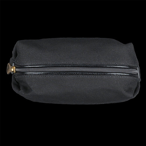 Piccolino Medium Case in Nero Canvas