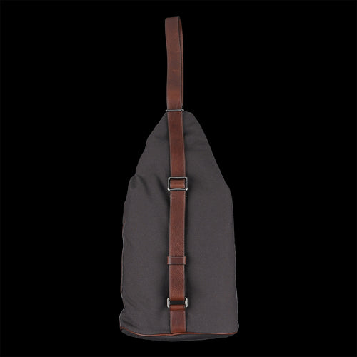 Drop Medium Shoulder Bag in Testa di Moro Technical Canvas