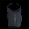Il Bisonte - Drop Large Shoulder Bag in Nero Technical Canvas