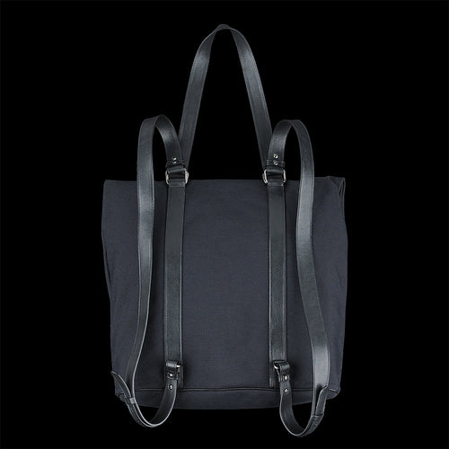 Drop Backpack in Nero Technical Canvas