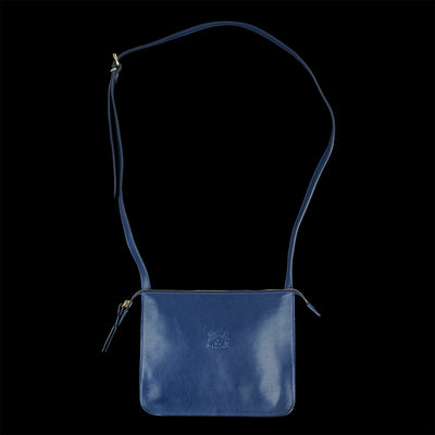 Il Bisonte - Classic Crossbody Bag in Blu