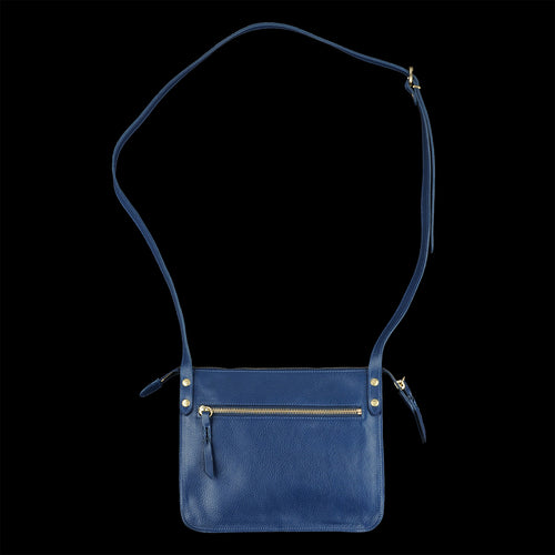 Classic Crossbody Bag in Blu