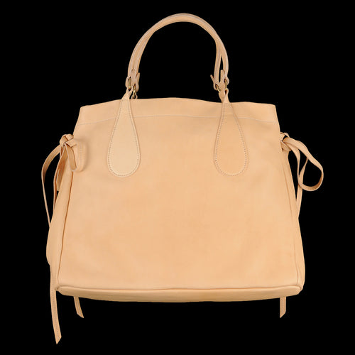 Bow Shoulder Bag in Naturale