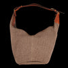 Il Bisonte - Flow Large Hobo Bag in Marrone Multi Fabric