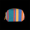 Il Bisonte - Piccolino Small Case in Riga Multi Stripe Canvas