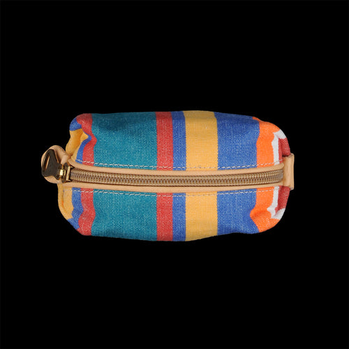 Piccolino Small Case in Riga Multi Stripe Canvas
