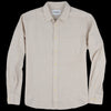 Corridor - Basketweave LS Shirt in Natural
