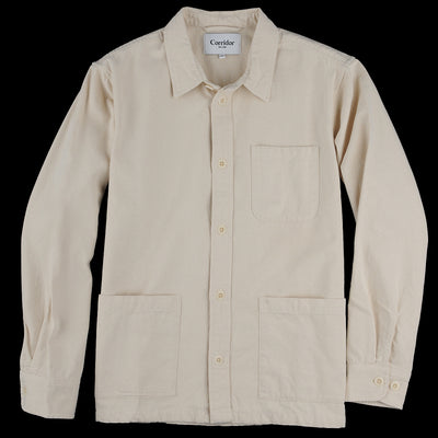 Corridor - Canvas Overshirt in Natural