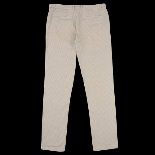 Stripe Linen Trouser in Natural