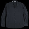 Officine Generale - Seersucker Alan Overshirt in Black