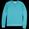 Officine Generale - Pigment Dyed Clement Sweatshirt in Baltic
