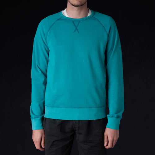 Pigment Dyed Clement Sweatshirt in Baltic