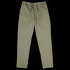 Officine Generale - Pigment Dye Italian Cotton Phil Pant in Burnt Olive