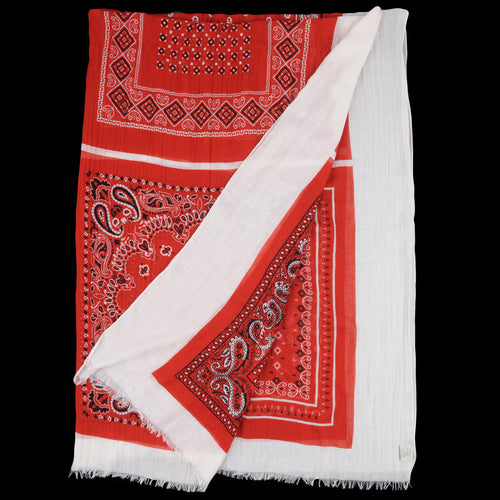 Cashcot Bandana Mega Scarf in Red